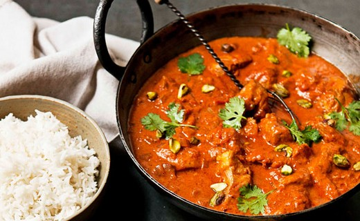 recette de butter chicken et son riz parfum plat indien base de poulet i cook 39 in. Black Bedroom Furniture Sets. Home Design Ideas