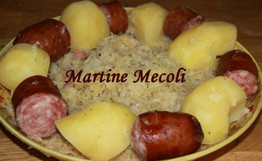 Recette de choucroute garnie partir de choucroute cuite - Cuisiner choucroute cuite ...