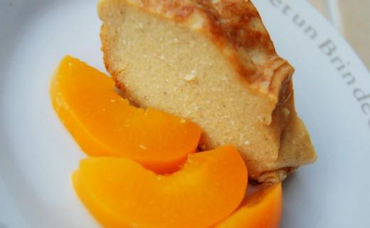 Recette de g teau de semoule sans raisins mais avec p ches ou abricots au sirop i cook 39 in - Peches au sirop sans sterilisation ...