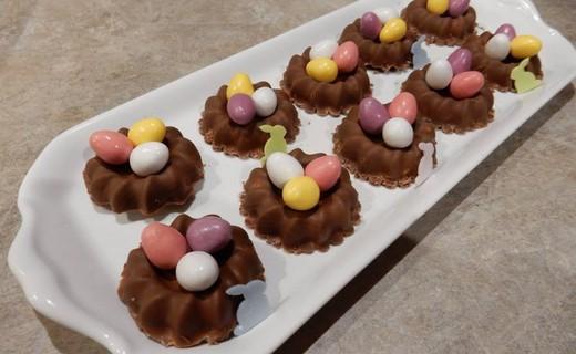 Recette de nid de p ques et t te au chocolat i cook 39 in - Recette nid de paques au moka ...
