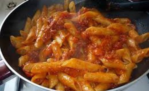 recette de one pot pasta penne chorizo jambon i cook 39 in. Black Bedroom Furniture Sets. Home Design Ideas