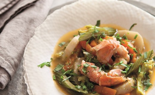 how to cook frozen langoustines