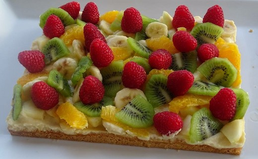 recette de tarte folle aux fruits avec ou sans gluten i cook 39 in. Black Bedroom Furniture Sets. Home Design Ideas
