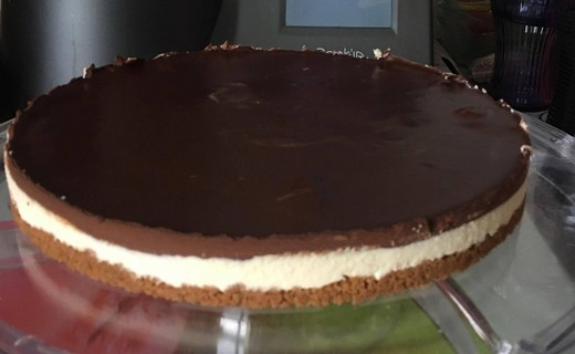 recette de tarte menthe chocolat sur croquant sp culoos i cook 39 in. Black Bedroom Furniture Sets. Home Design Ideas