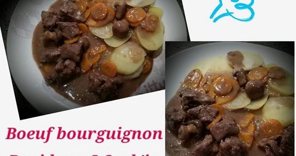 Recette de boeuf bourguignon rapide i cook 39 in - Cuisiner le boeuf bourguignon ...