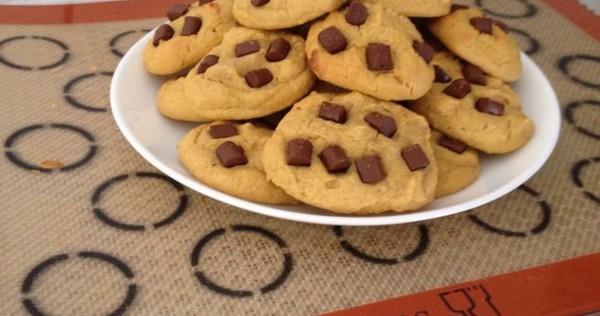 recette de cookies moelleux sans gluten sans plv sans sucre i cook 39 in. Black Bedroom Furniture Sets. Home Design Ideas