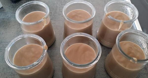 recette de creme dessert chocolat noisette au lait de soja i cook 39 in. Black Bedroom Furniture Sets. Home Design Ideas
