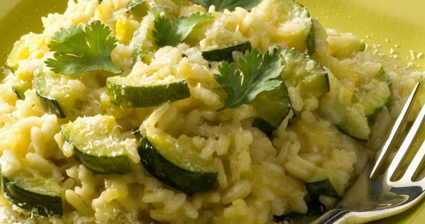 recette de risotto aux courgettes safrane i cook 39 in. Black Bedroom Furniture Sets. Home Design Ideas