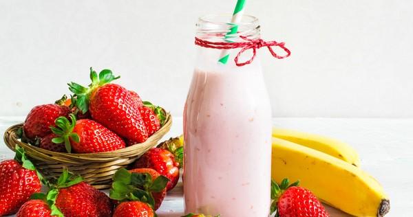 recette de smoothie fraise banane passion i cook 39 in. Black Bedroom Furniture Sets. Home Design Ideas